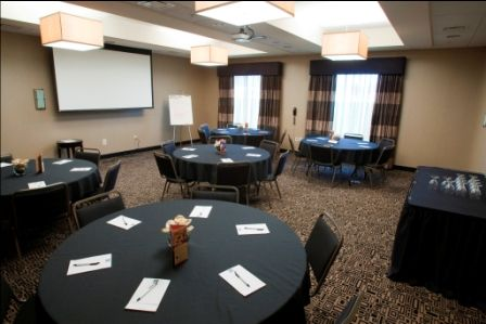 conference room at RAC Conference Center is perfect for a small to medium group to get together. All the AV in our meeting rooms is complimentary with room rental!