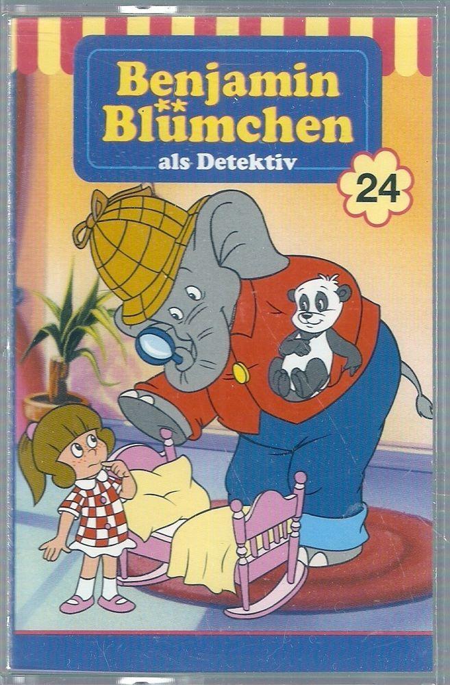 Benjamin Blümchen 24: Als Detektiv [Kassette] in Bücher, Hörbücher & Hörspiele | eBay