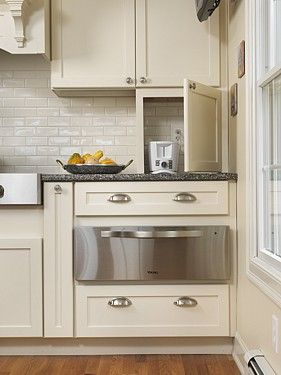 Kitchen Appliance Storage Cabinets
