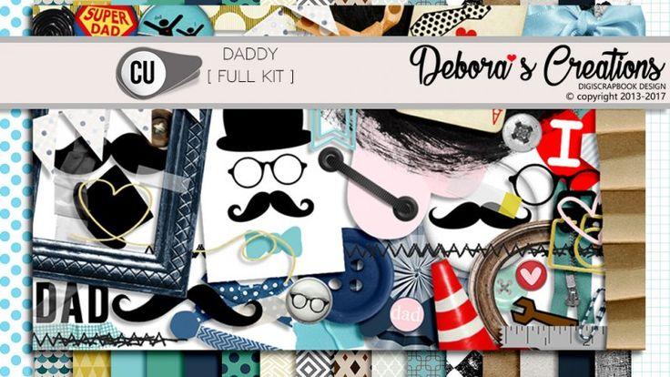 Daddy Full Kit by Debora's Creations CU