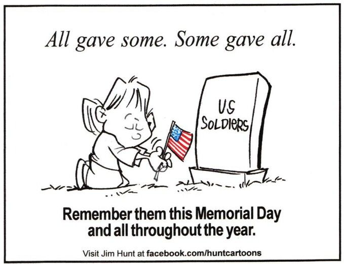 confusing memorial day and veterans day