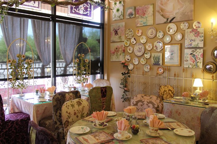 English Rose Tea Room Arizona