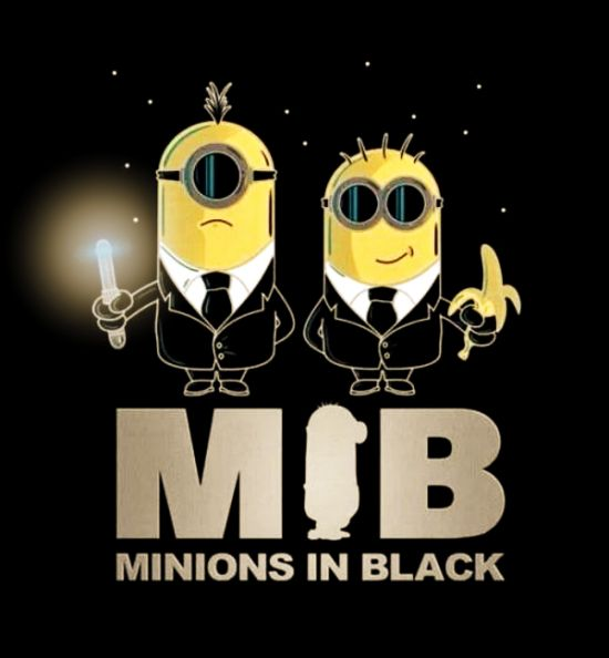Minions los hombres de negro minions pinterest for Pictures of black lovers