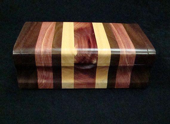 wood eyeglass box by cooperswoodstudio on Etsy