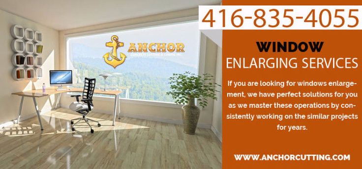 Anchor #Cutting have #extensive #experience in #Window #Enlarging Services or #installing new one in #walls for #windows . A perfect fit, guaranteed.We are extremely good at what we do. Give us call Today to enjoy our Services:- 416-835-4055 Website:-http://www.anchorcutting.com/window-enlarging-services.html #WindowEnlargingServicesMississauga