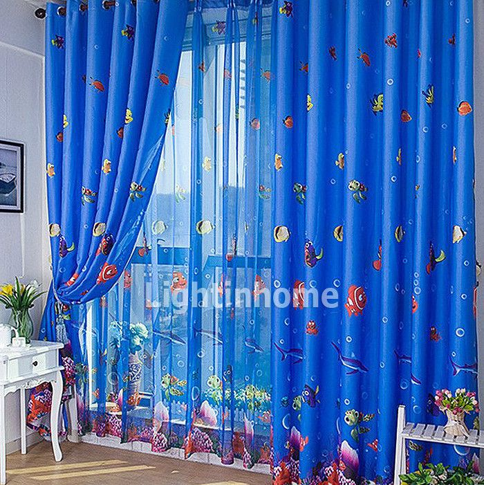 cute fun finding kids blackout nemo royal blue best curtains