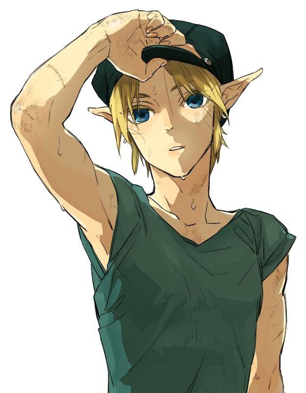 Train driver, adult Link | Zelda #SpiritTracks