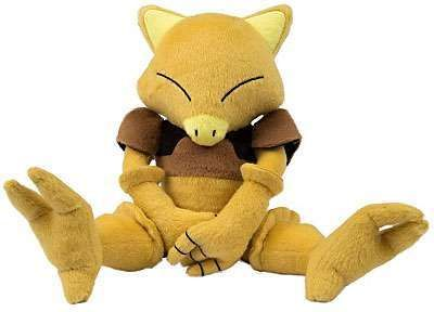 Abra Plush 8 Inch Pokemon Tomy