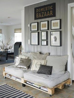 Some awesome ideas for reusing wooden pallets!