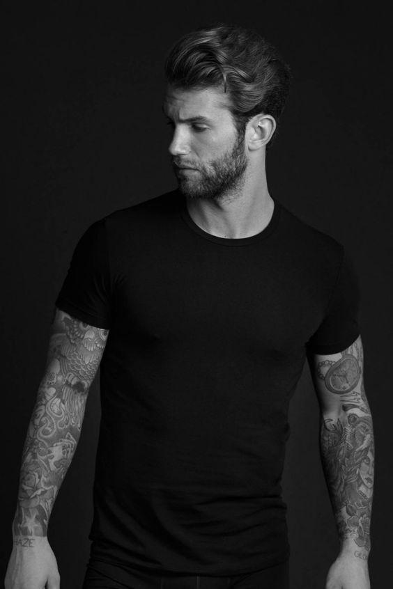 André Hamann Models Underwear for Tezenis Shoot: