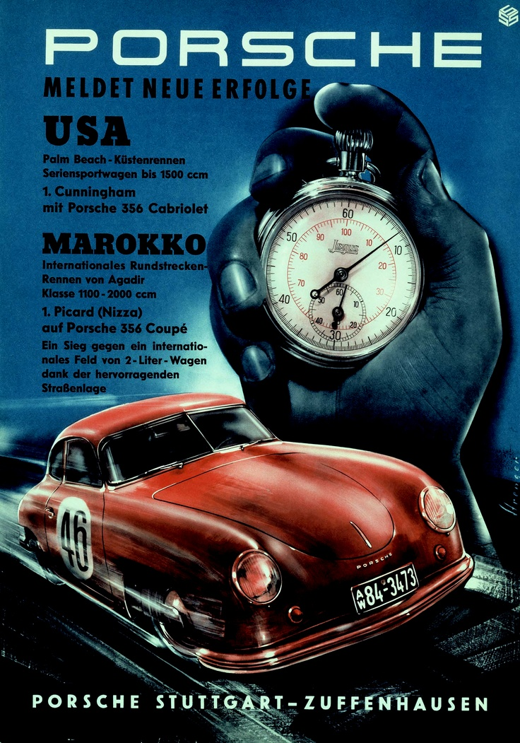 27 best Vintage Racing Posters. images on Pinterest   Car posters ...