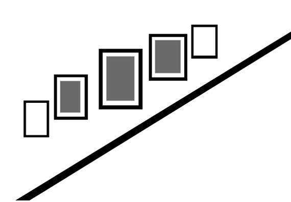 Deco ideas: trucos para crear efectos visuales con cuadros, escaleras