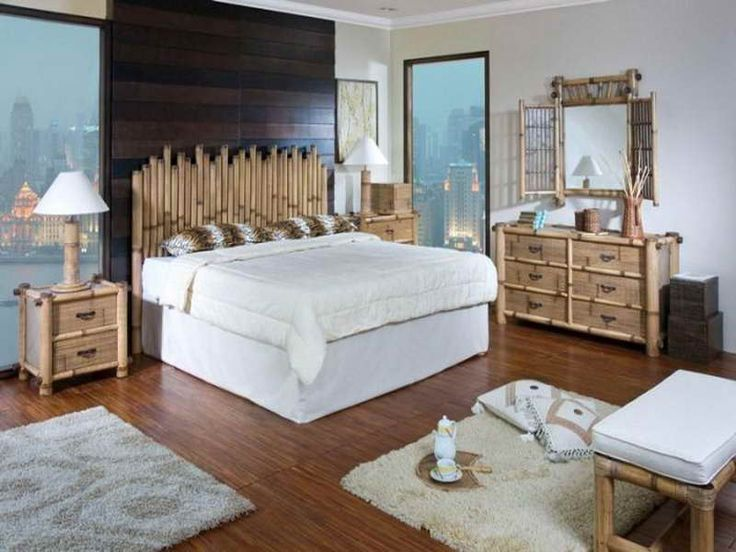 bamboo headboard | Bamboo Headboard With wooden Floor