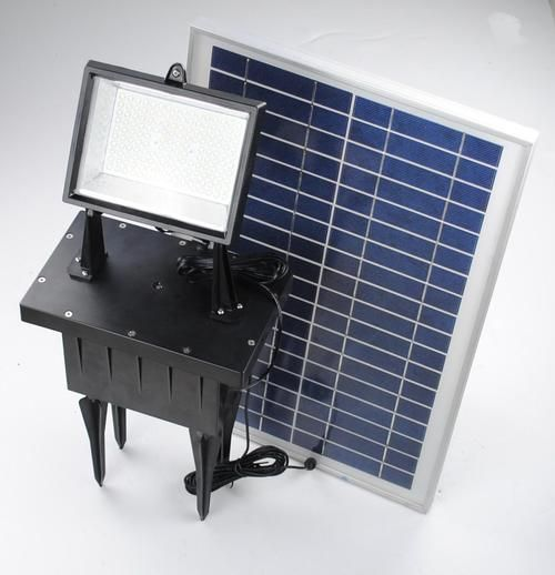 Solar-Powered Flood Lights / TechNews24h.com
