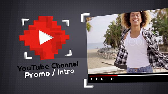 Glitch YouTube Channel Promo / Intro (Corporate) #Envato #Videohive #aftereffects