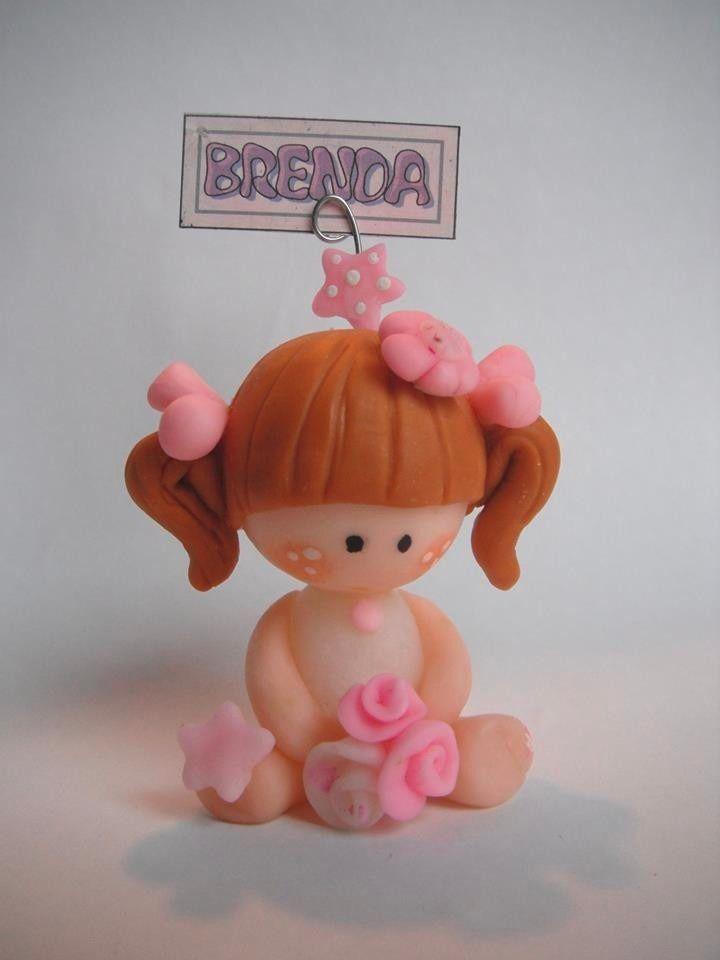Souvenirs Para Cumpleaños O Nacimientos En Porcelana Fria  By Maria Elena lopez