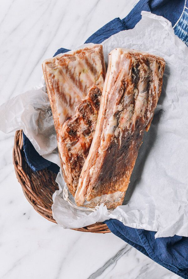 Homemade Chinese Salted Pork recipe #homemade #saltedpork #pork #cured #chinese