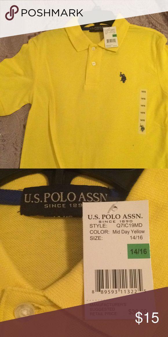Large child's Polo collared shirt NWT Short sleeves Polo Shirt. Shirts & Tops Polos