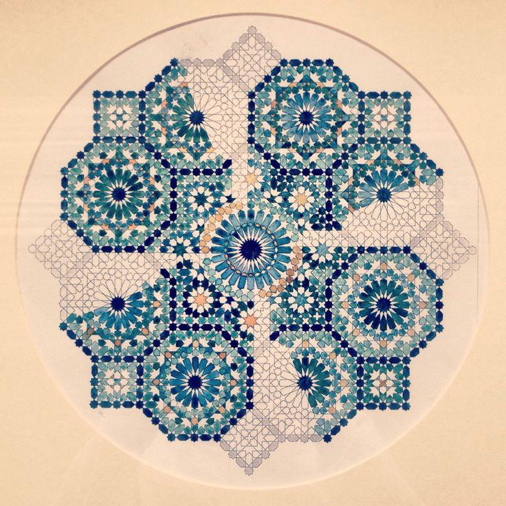 Artwork by Dana Awartani ©  Islamic art