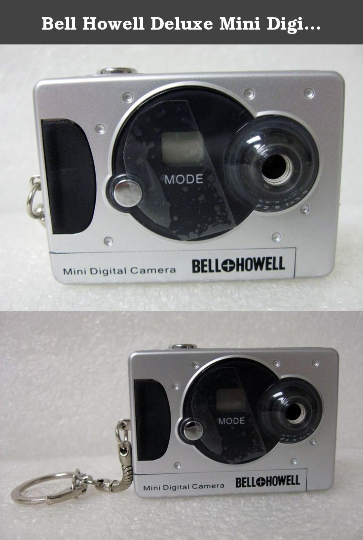 Bell howell deluxe mini digital camera bell howell not only can take photos but it