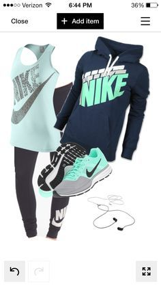 Maybe if I get this outfit I'll be more motivated to workout ;)