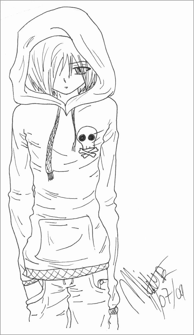 Boy Anime Coloring Pages Lovely Coloring Pages Coloring Pagesnime Sheets Boy Picture Anime Drawings Colorful Drawings Anime Demon Boy