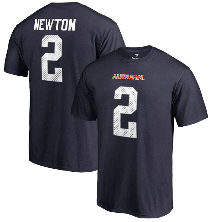 Cam Newton Auburn Tigers Fanatics Branded College Legends Name & Number T-Shirt - Navy