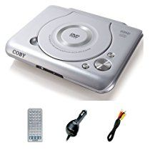 Coby DVD-719 Ultra-Compact DVD Player with Car Kit