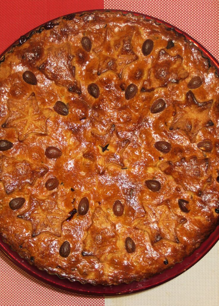 Feesttaart!:Cranberrie en blauwebessen taart