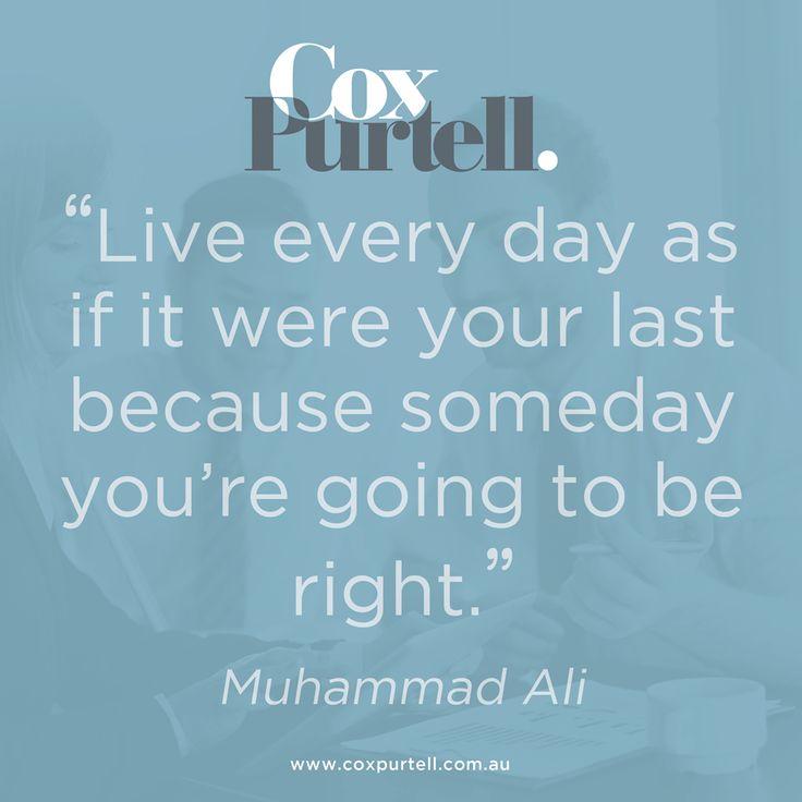 Muhammad Ali Quote - Cox Purtell Recruitment