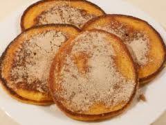 Pampoen koekies. ( Pumpkin Fritters )  Cinnamon Sugar Coated.