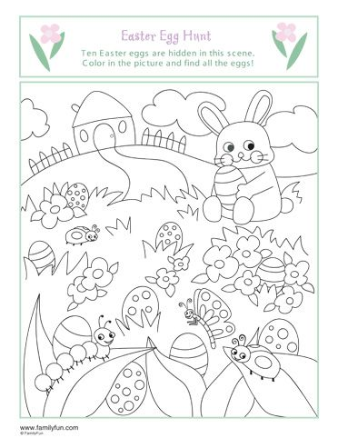 Coloring Pages Easter Printable