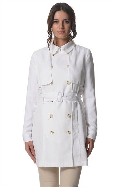 White Brooklyn Double Breasted Trench by Sportscraft spotted at Ozsale. Price was $299.95 and is now $65.00