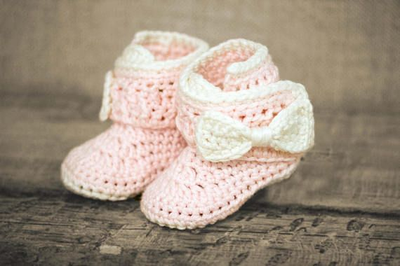 Crochet Booties Pattern Crochet Pattern Baby Booties Baby