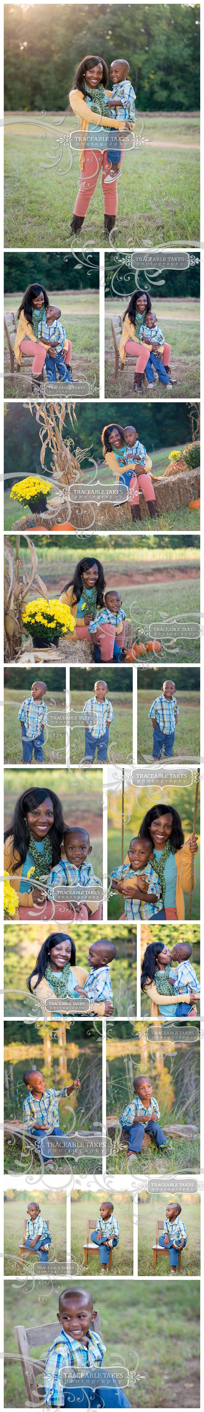 Mommy & Me Fall Photo Shoot
