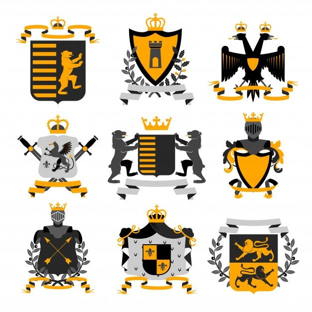 Download Heraldic Coat Of Arms Family Crest And Shields Emblems For Free Coat Of Arms Family Crest Design Studio Logo