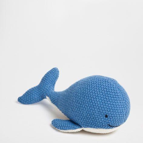 Whale plush toy - Decoration Accessories - Decoration | Zara Home Canada