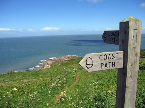 South West Coast path from Ilfracombe to Combe Martin Bay Rillage Point (May 2005) A picture of: Ilfracombe, Devon