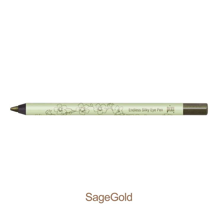 Endless Silky Eye Pen, $15. Long wearing, non-transfer, and waterproof eye pen gives the intense effect of a liquid liner but is much easier to apply. Ten different shades available.