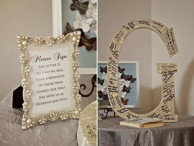 Guestbook alternative- something like this at the rehearsal dinner