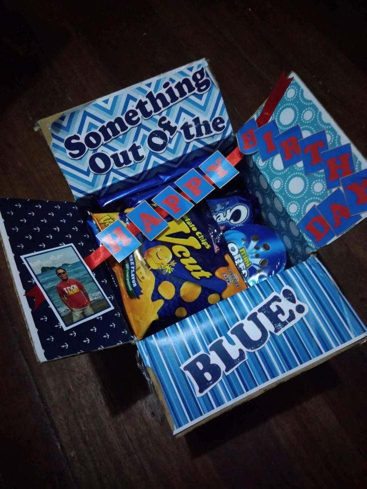 """A birthday surprise for my best friend! """"Something out of the blue"""""""