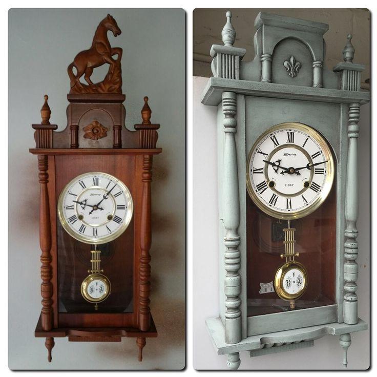 Old vintage clock transformed