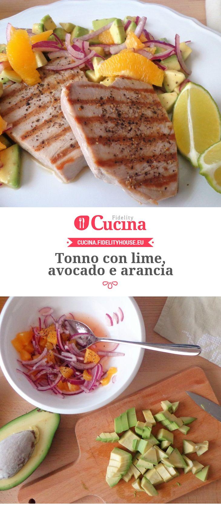 Tonno con lime, avocado e arancia della nostra utente Magdalena. Unisciti alla nostra Community ed invia le tue ricette!