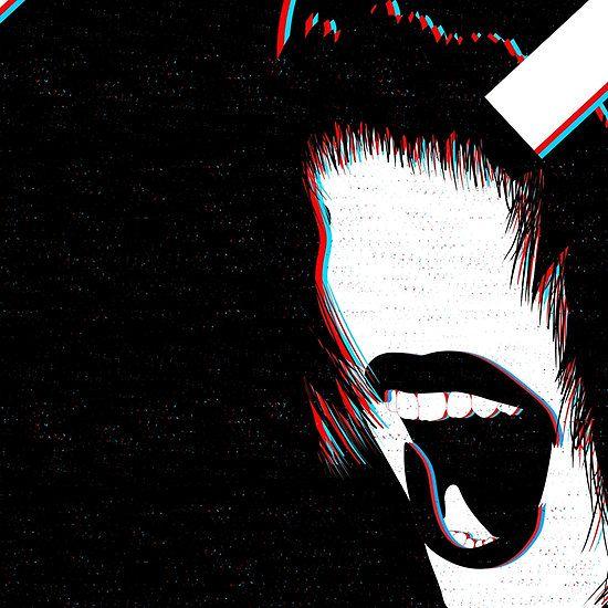 3D Effect Scream