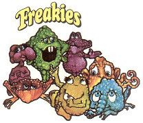 Ralston Freakies Cereal Group Shot   Scan from Freakies Cere…   Flickr
