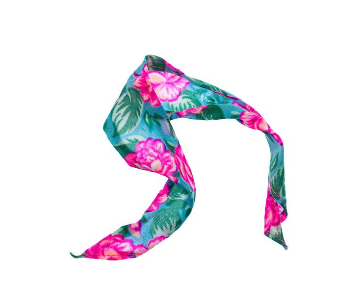 Tropical Floral Print Scarf – Barbies Laundry