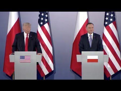 Donald Trump i Andrzej Duda spotkanie na Zamku Królewskim - NA ŻYWO! LIV...