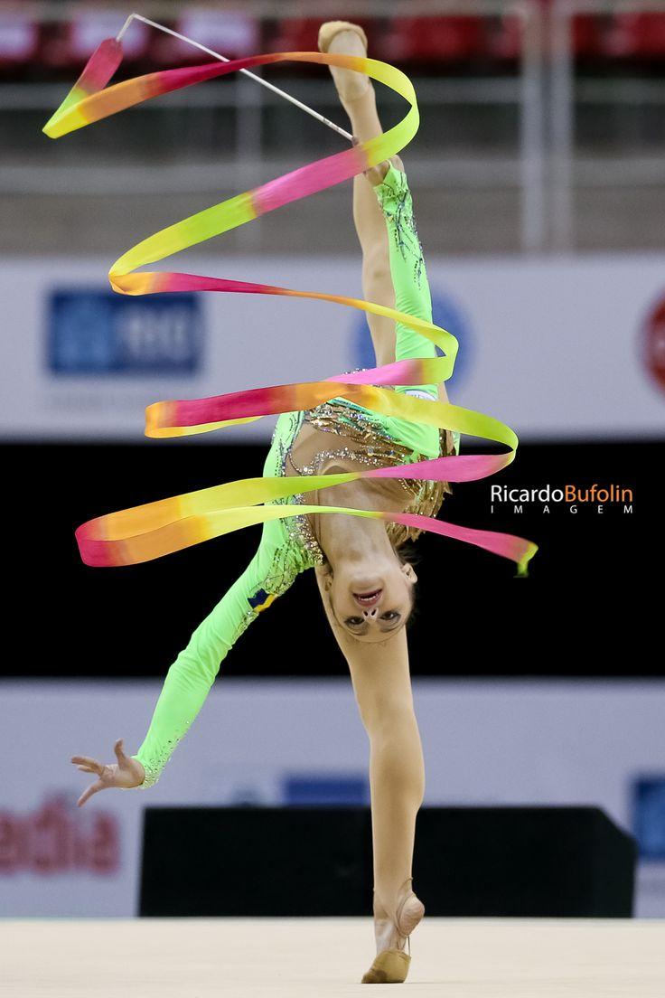 Ana Luiza Filiorianu - ROM | Rhythmic Gymnastic   #fig #cbg #cob #canon #romania #rom #gymnastics #gimnasia #ginastica #ritmica #rhythmic #fita #ribbon #rio2016 #olympic #games #sportphotography #bufolin #rbufolin #filiorianu