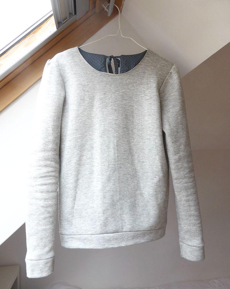 Sweet courcelles (My cozy little world) tuto pour ajouter manches froncés et noeud dans le dos
