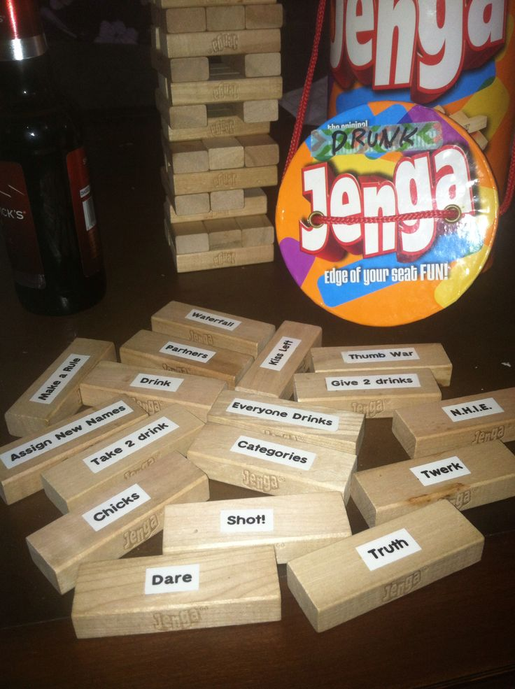 Jenga Blocks Drinking Game 25+ best ideas about D...